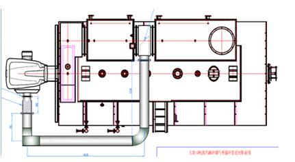 方快低氮FGR燃气锅炉结构